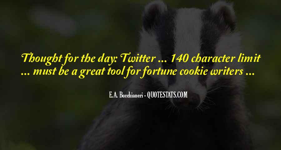 Fortune Cookie Quotes #1172024