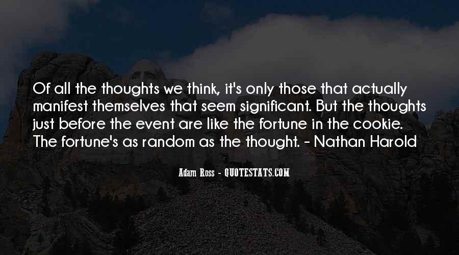 Fortune Cookie Quotes #1599677