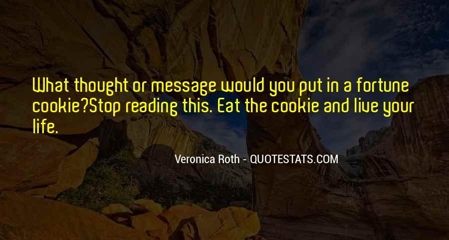 Fortune Cookie Quotes #232822
