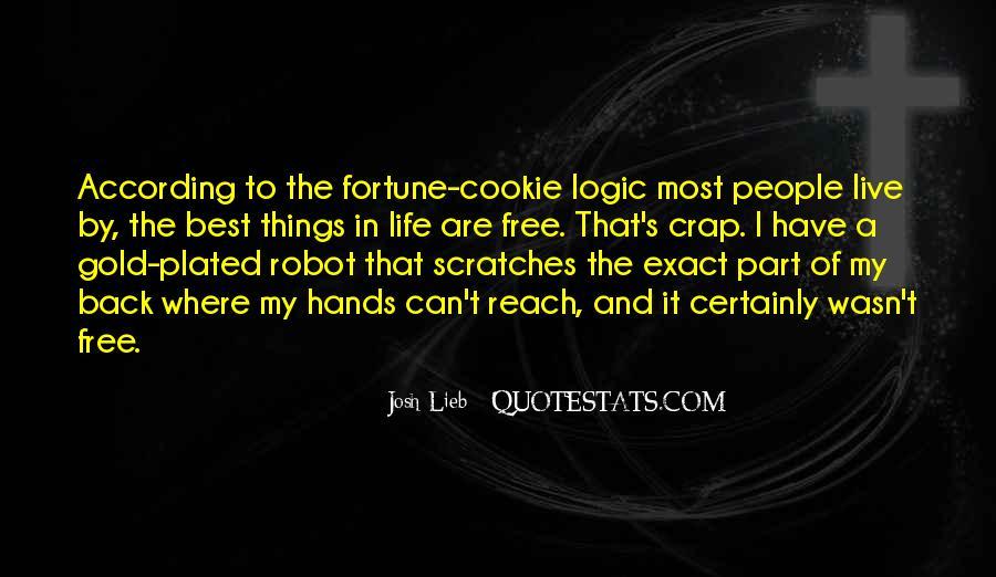 Fortune Cookie Quotes #255388