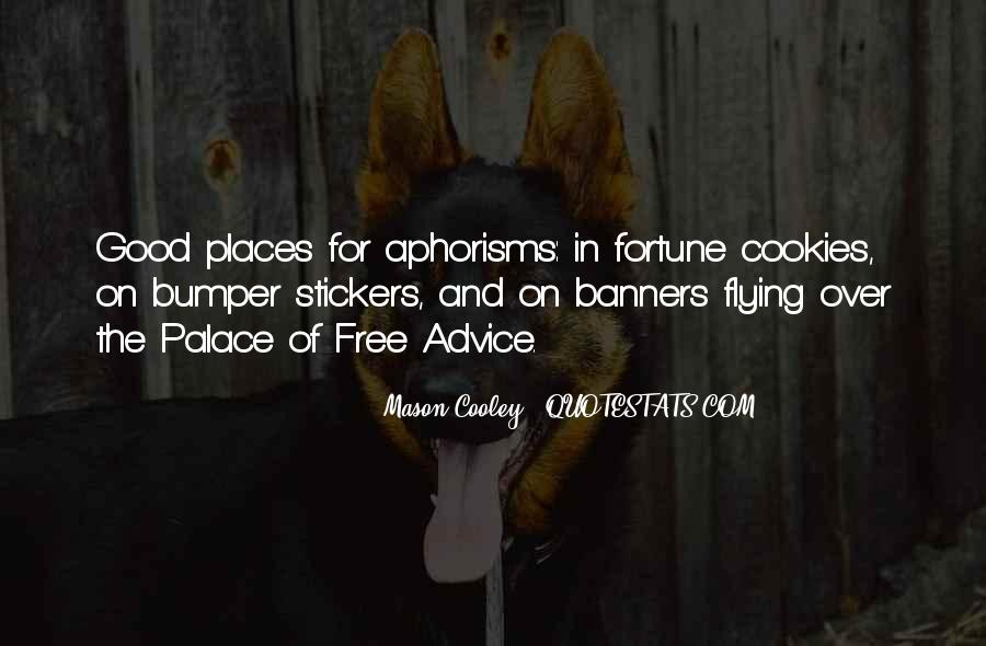 Fortune Cookie Quotes #361767
