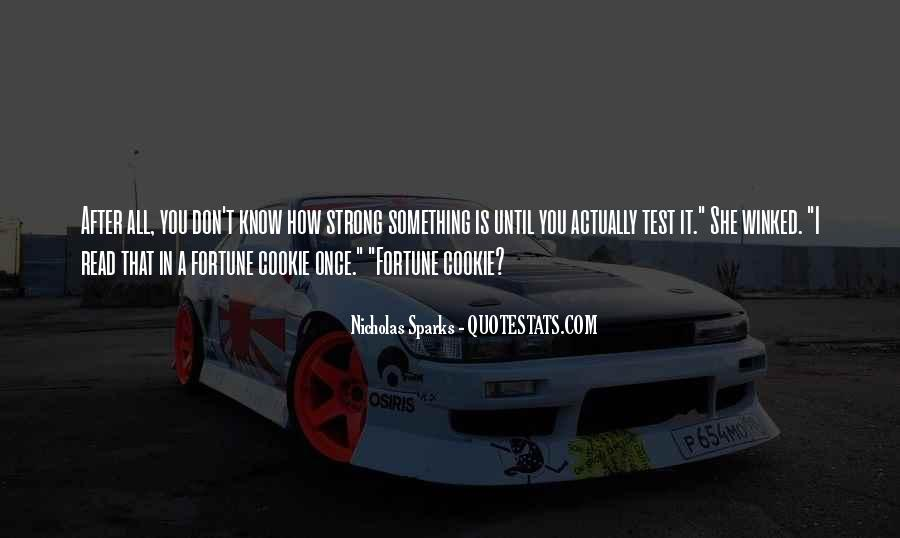 Fortune Cookie Quotes #464545