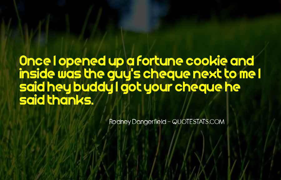Fortune Cookie Quotes #921250