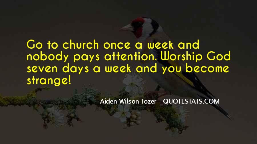 Four Day Week Quotes #12989