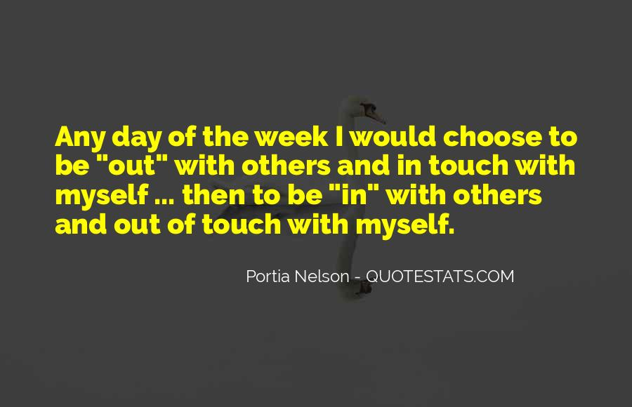Four Day Week Quotes #21969
