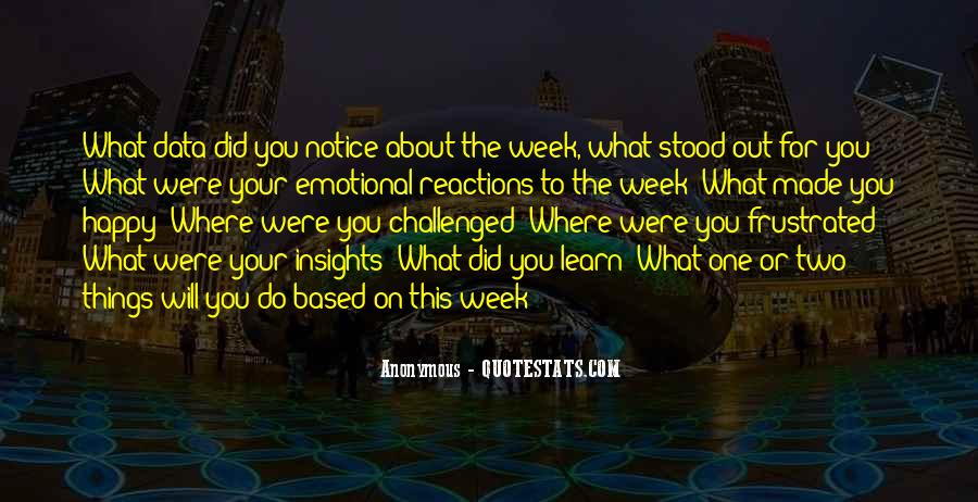 Four Day Week Quotes #8725