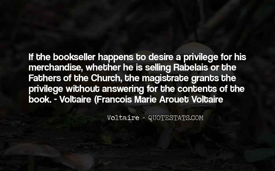Francois Marie Arouet Quotes #1397333