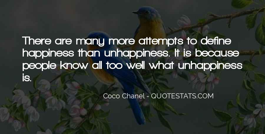 Quotes About Happiness Coco Chanel #1061526