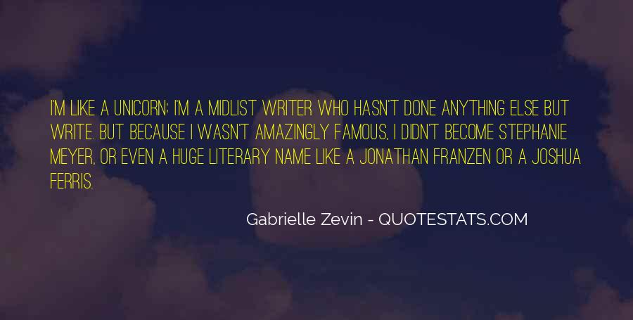 Franzen Quotes #112717