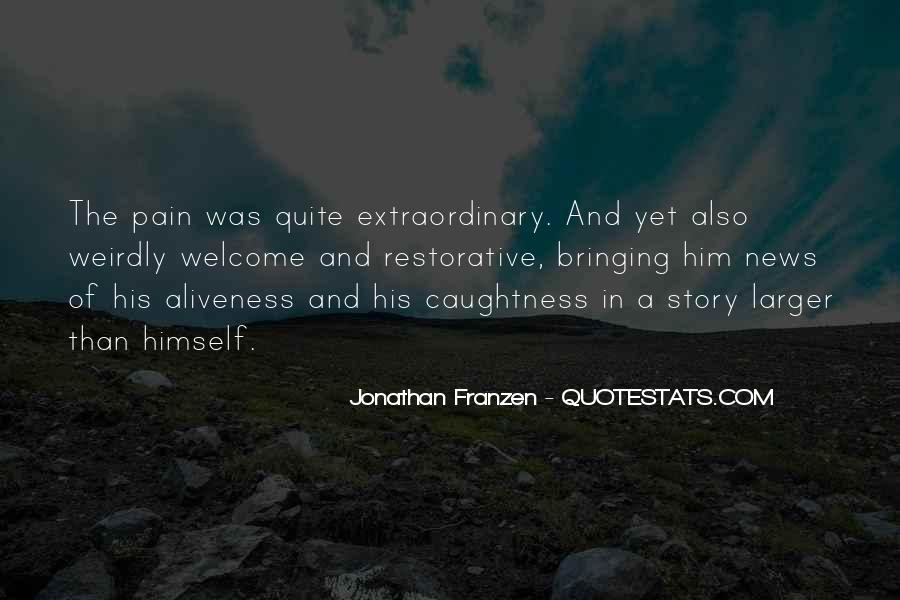 Franzen Quotes #21212