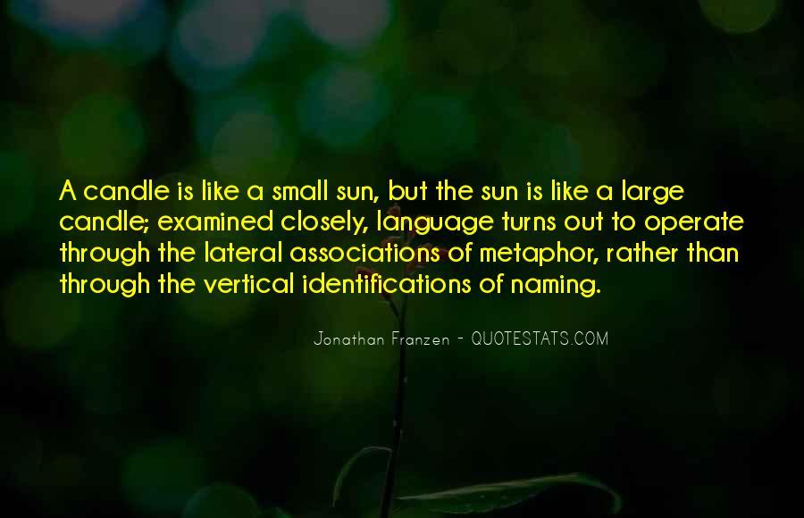 Franzen Quotes #242975