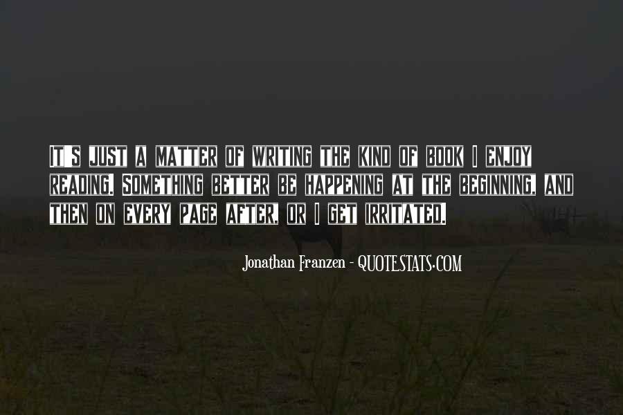 Franzen Quotes #31496