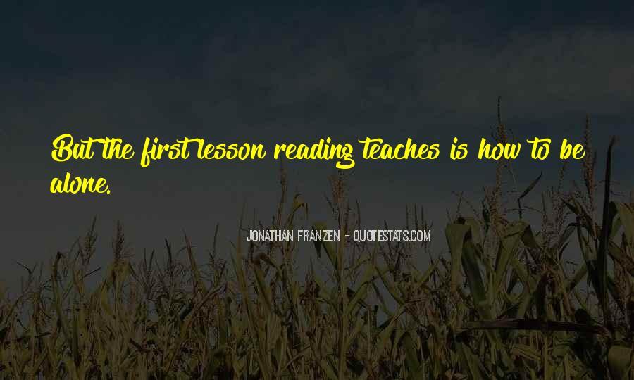 Franzen Quotes #4169