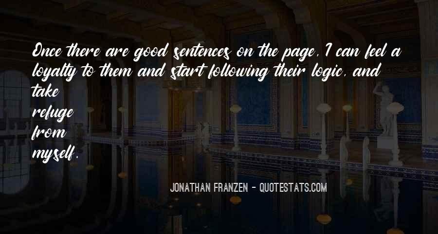 Franzen Quotes #441950