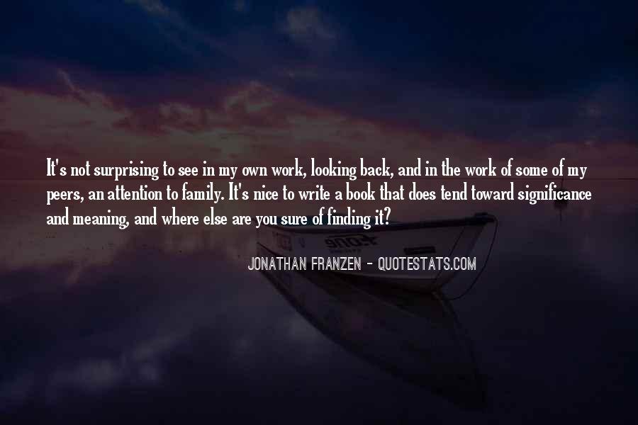 Franzen Quotes #517476