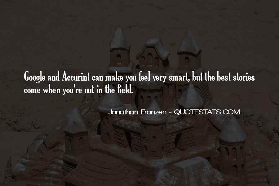 Franzen Quotes #519320