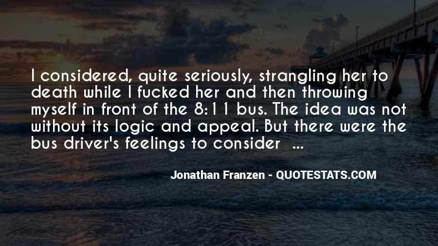 Franzen Quotes #552920