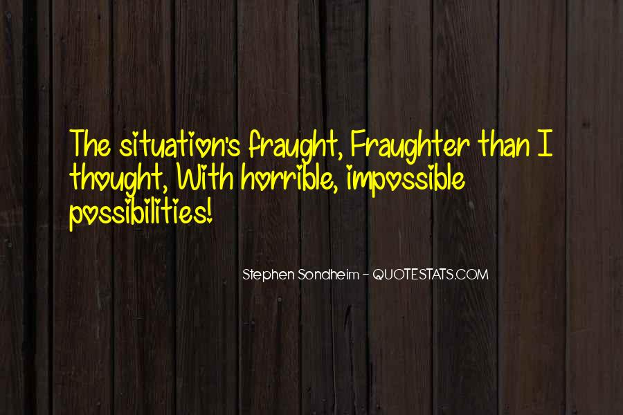 Fraught Quotes #901204