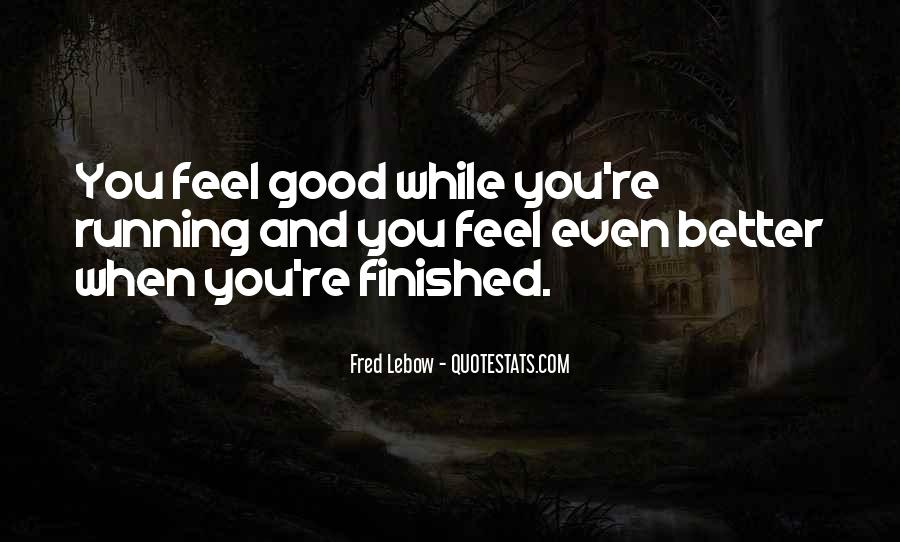 Fred Lebow Running Quotes #1491295