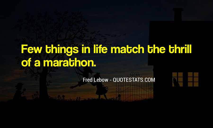 Fred Lebow Running Quotes #1722788