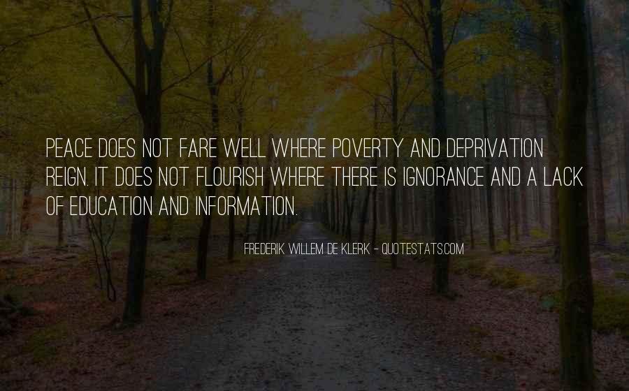 Frederik De Klerk Quotes #356850