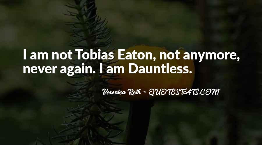 Free Four Tobias Quotes #382593