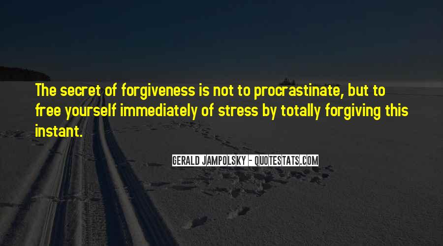 Free From Stress Quotes #118760