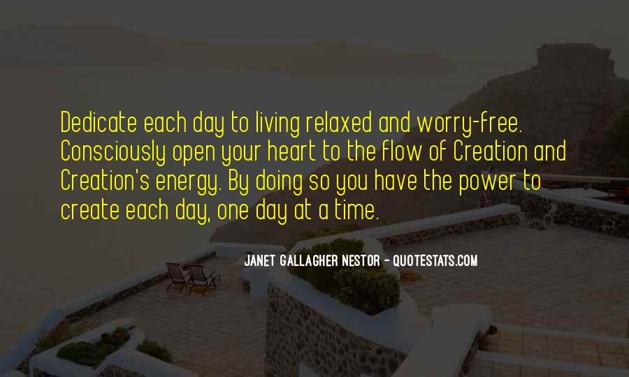 Free From Stress Quotes #373806
