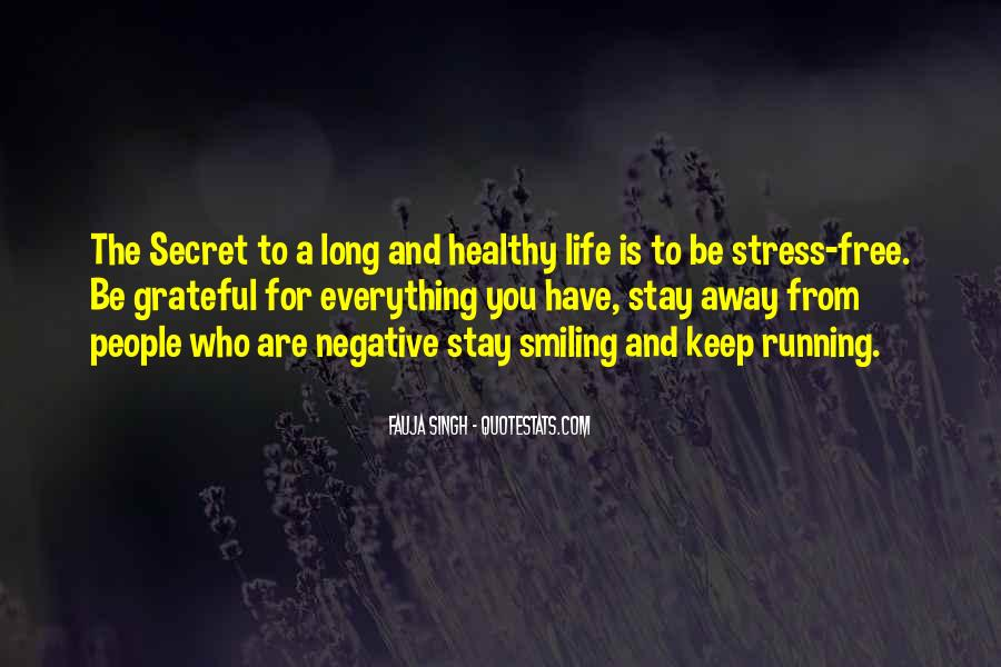 Free From Stress Quotes #674536