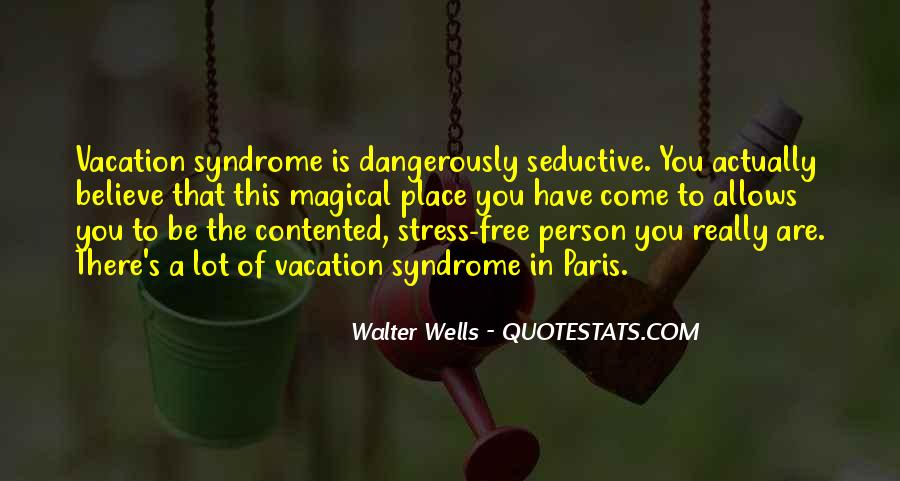 Free From Stress Quotes #731304