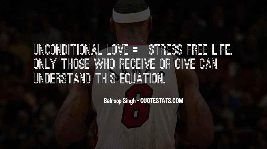 Free From Stress Quotes #750021