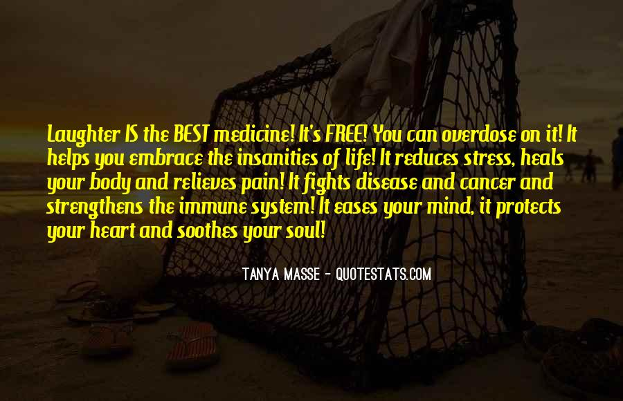 Free From Stress Quotes #882462