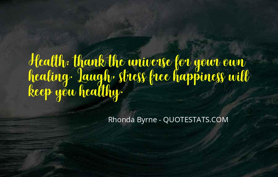 Free From Stress Quotes #990610