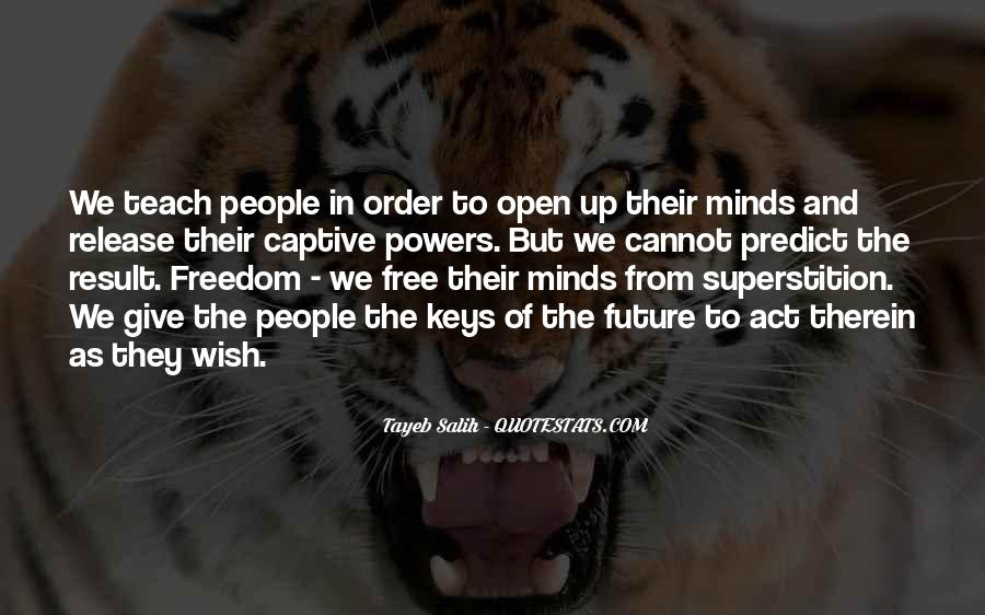 Free Your Minds Quotes #210535