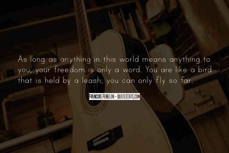 Freedom Like Bird Quotes #65301