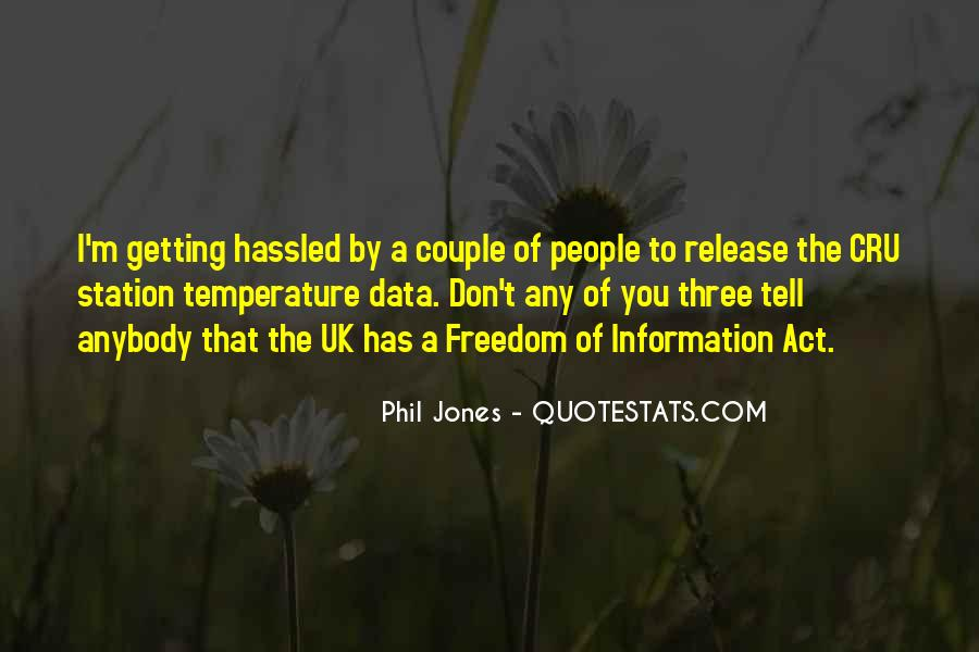 Freedom Of Information Act Quotes #1135876