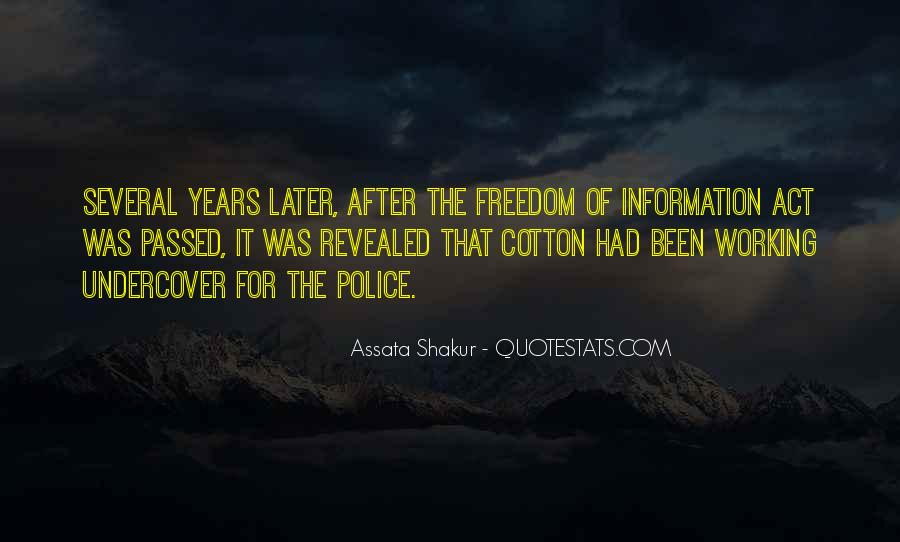 Freedom Of Information Act Quotes #1495798