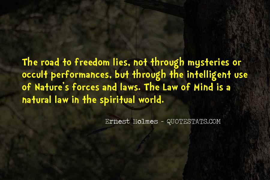 Freedom Of The Road Quotes #1823967