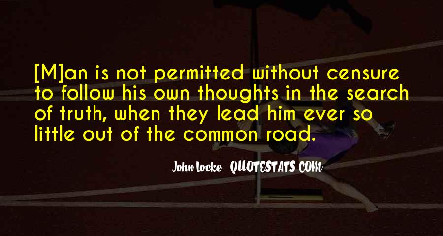 Freedom Of The Road Quotes #716197