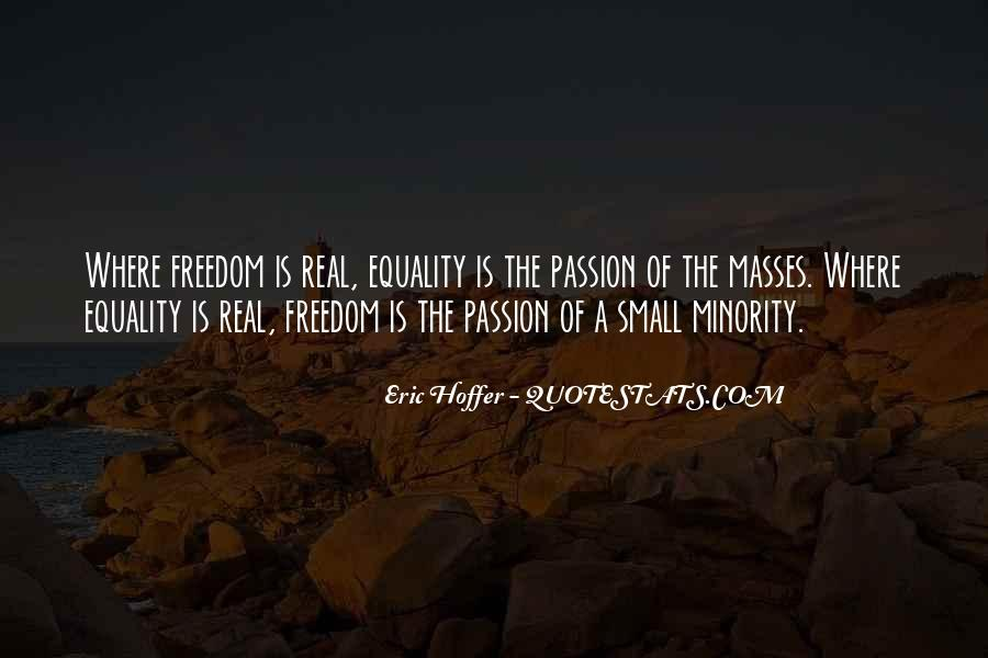 Freedom Vs Equality Quotes #121267