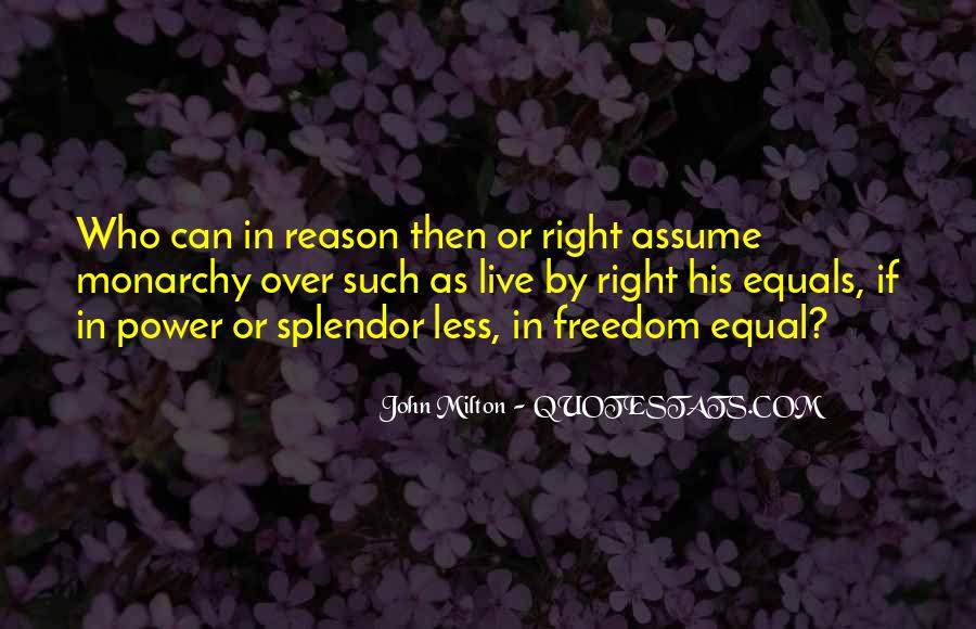 Freedom Vs Equality Quotes #127664
