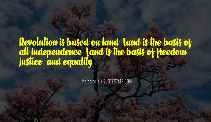 Freedom Vs Equality Quotes #43088
