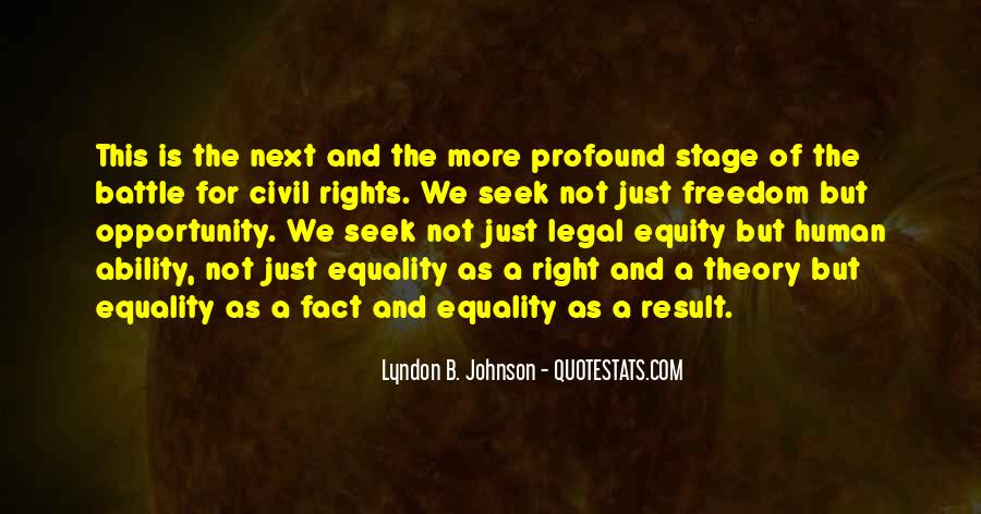 Freedom Vs Equality Quotes #53028