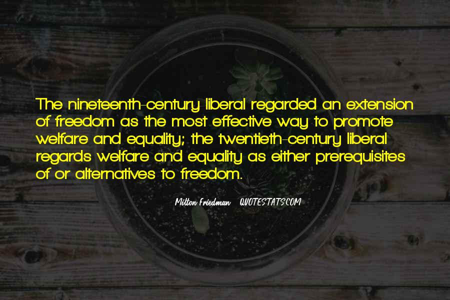 Freedom Vs Equality Quotes #91468