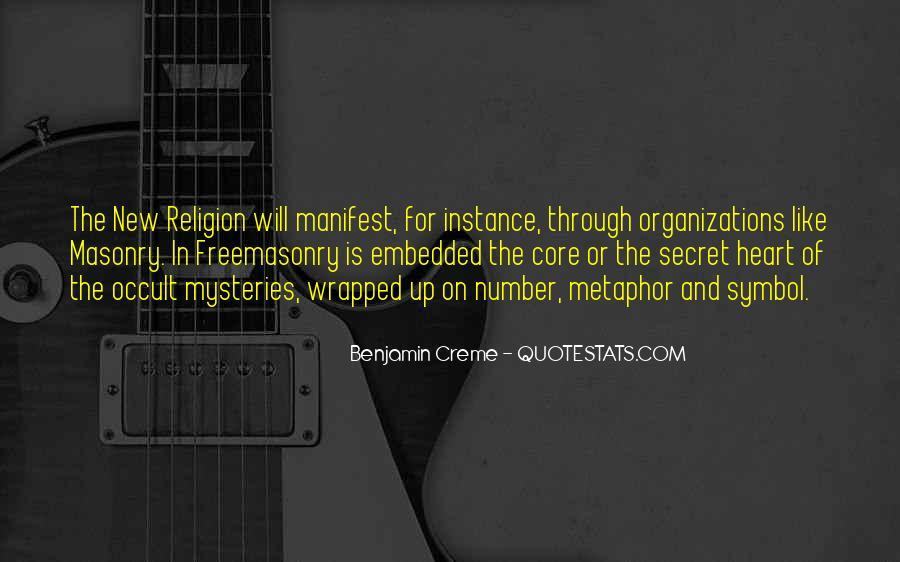 Freemasonry Secret Quotes #1126091