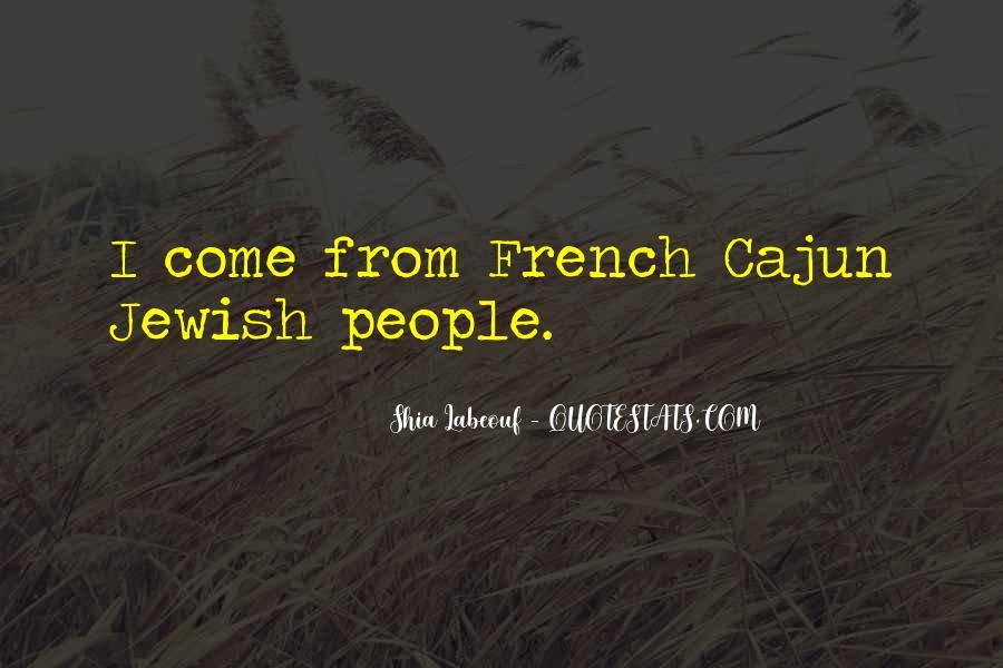 French Cajun Quotes #192591
