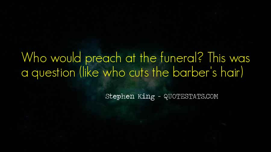 Quotes About Hair Cuts #34957