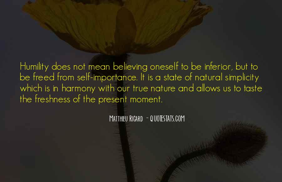 Freshness Of Nature Quotes #797906