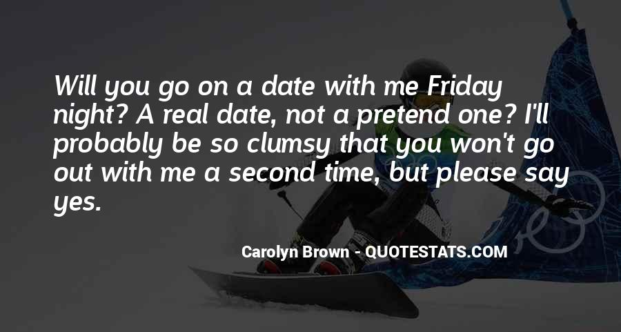 Friday Date Night Quotes #133586