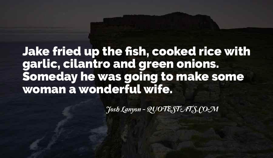Fried Fish Quotes #556342